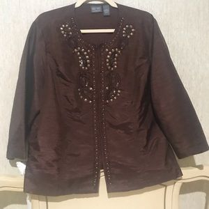 Additions by Chico's top/jacket, size 3 (16)